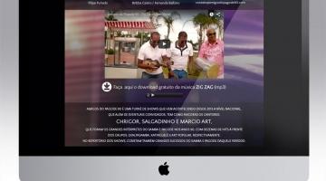 Imagem 3 do post Criação de Hotsite para Banda de Pagode