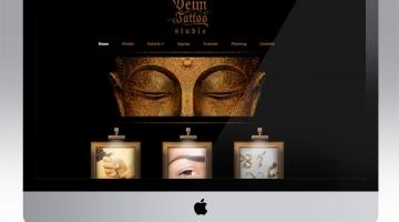 Imagem 1 do post Criação de Site para Studio de Tattoo