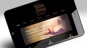 Imagem 2 do post Criação de Site para Studio de Tattoo