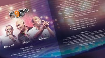 Imagem 3 do post Projeto Gráfico para CD dos Amigos do Pagode 90