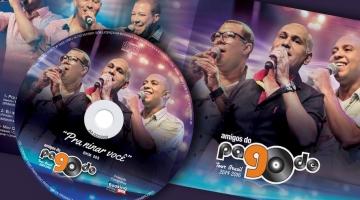 Imagem 1 do post Projeto Gráfico para CD dos Amigos do Pagode 90