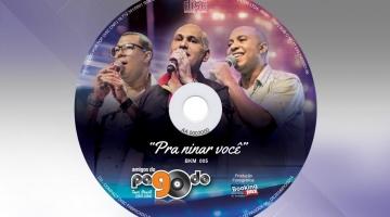 Imagem 2 do post Projeto Gráfico para CD dos Amigos do Pagode 90