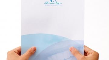 Imagem 2 do post Criação de Logotipo e Papelaria - Adriana Byrro Odontologia