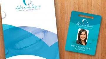 Imagem 1 do post Criação de Logotipo e Papelaria - Adriana Byrro Odontologia