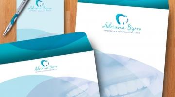 Imagem 3 do post Criação de Logotipo e Papelaria - Adriana Byrro Odontologia