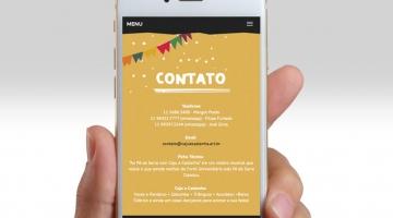 Imagem 3 do post Criação de Logotipo e Site - Caju e Castanha