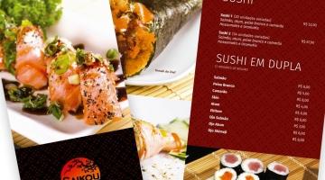 Imagem 1 do post Criação Cardápio Restaurante Japonês