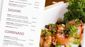 Imagem 4 do post Criação Cardápio Restaurante Japonês