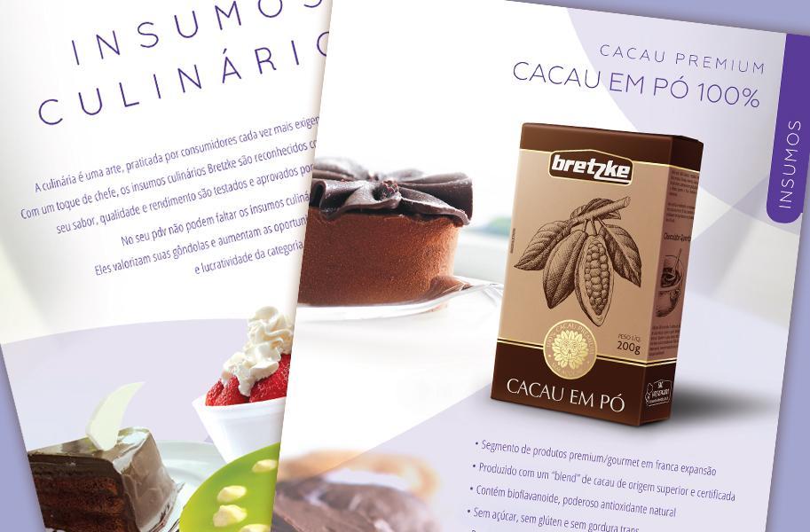 Criação de Catálogo de Produtos para Empresa de Alimentos