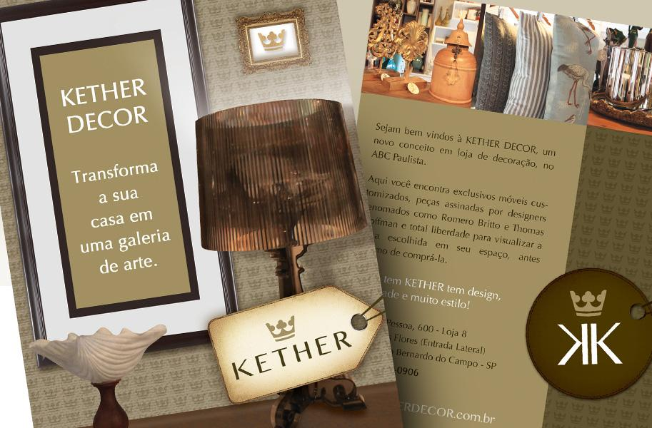 Criação de Convite e Flyer para Inauguração de Loja