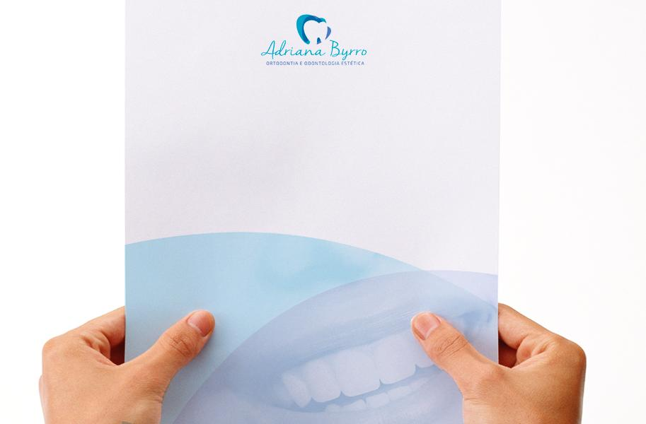 Criação de Papelaria para Dentista