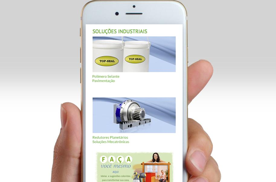 Criação de Site Responsivo para Importadora e Distribuidora