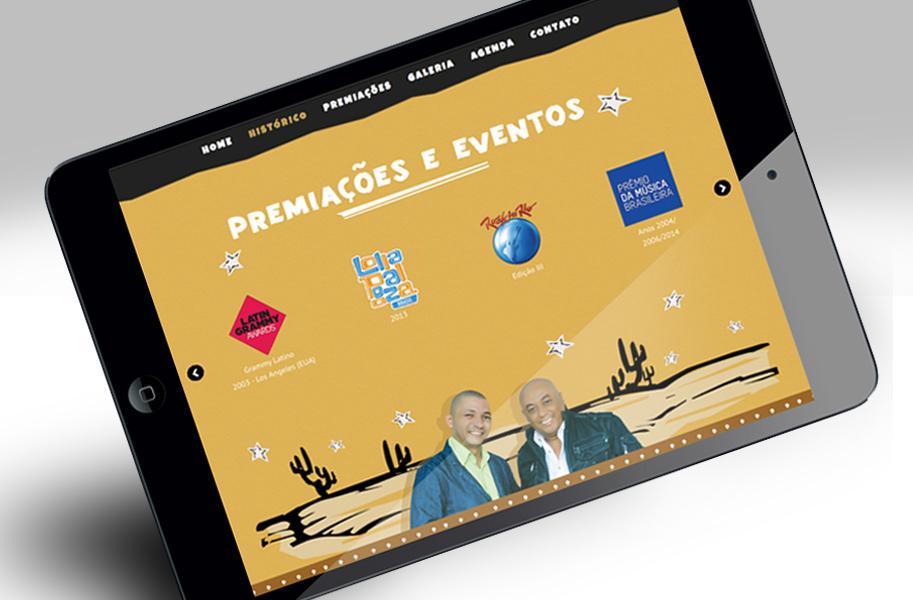 Criação de Website para Caju e Castanha