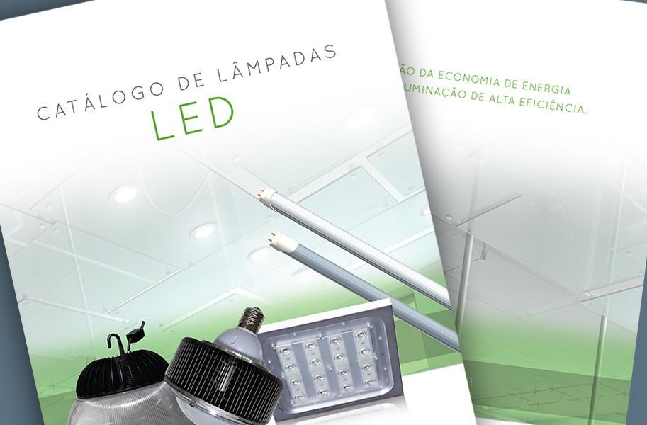 Criação de Catálogo de Produtos para Empresa de Lâmpadas