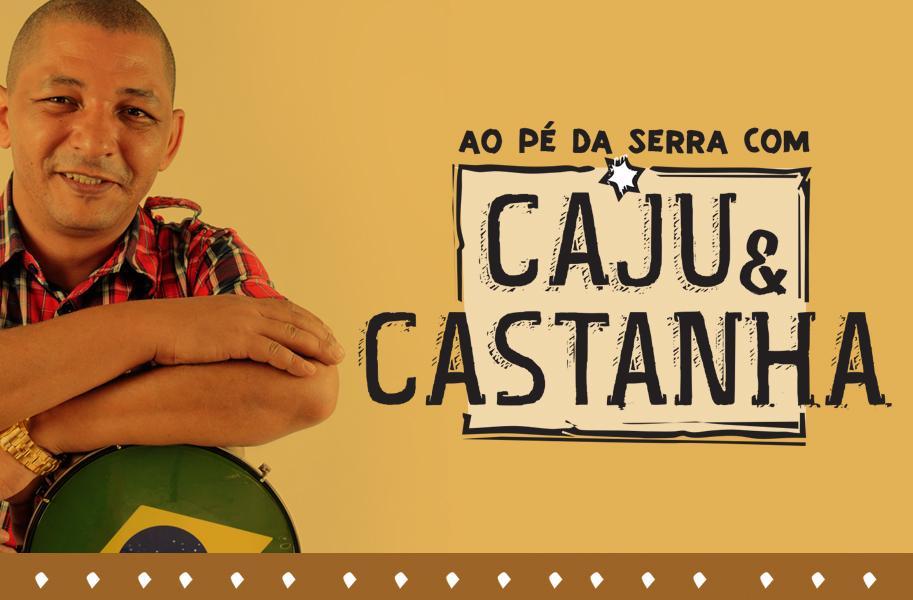 Criação de Logotipo e Site - Caju e Castanha