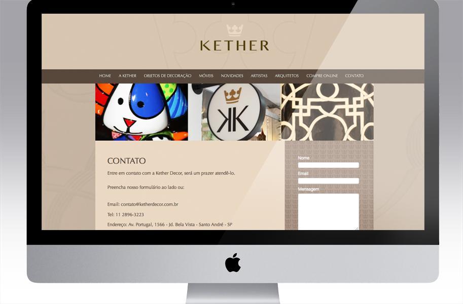Identidade Visual - Kether Decor