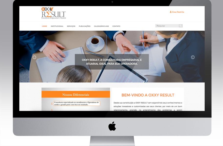 Criação de Site para Consultoria Empresarial
