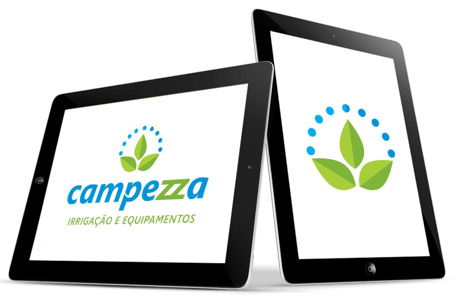 Logotipo Empresa Irrigação