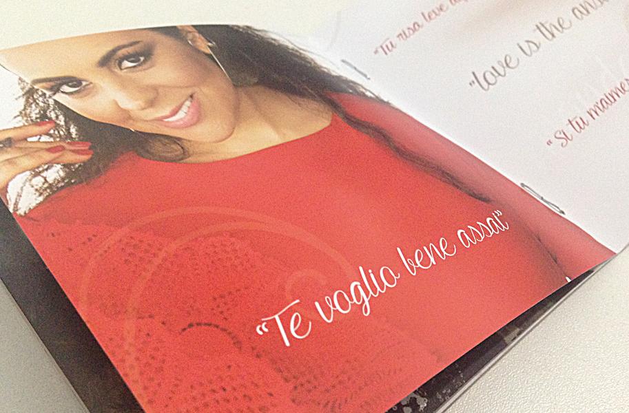 Projeto Gráfico CD Amore - Carmen Monarcha
