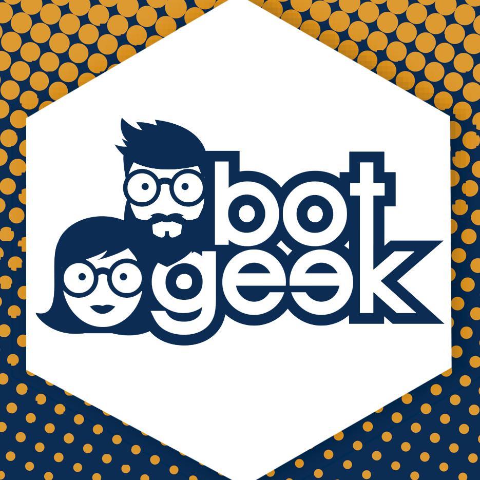 Logotipo Loja de Produtos Geek