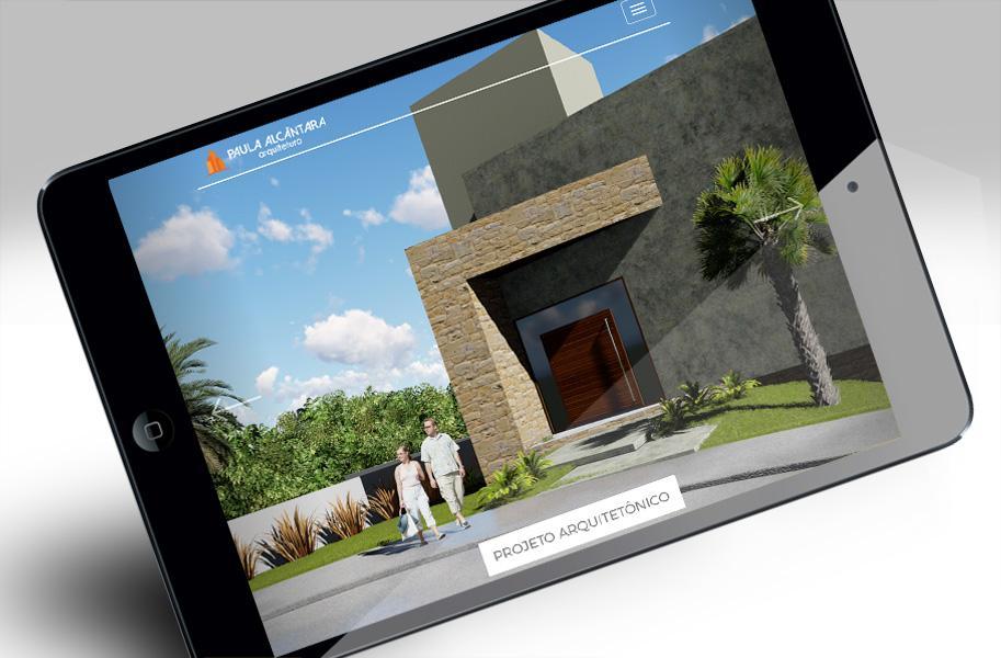 Site Escritório de Arquitetura