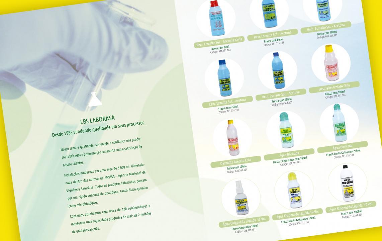 Criação Catálogo de Produtos Indústria Farmacêutica